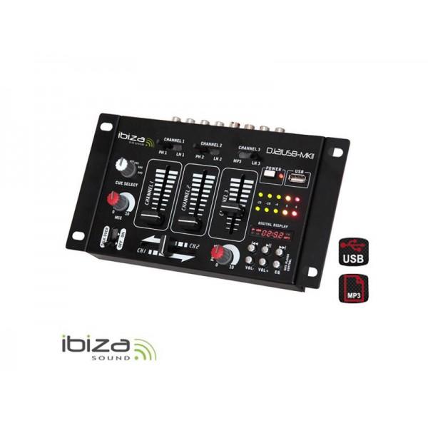 Mixážný pult IBIZA DJ21USB-MKII