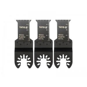 Multifunkčný prístroj Pilový list na ponor. rezy BIM, 28,5mm (drevo, plast, kov), sada 3ks
