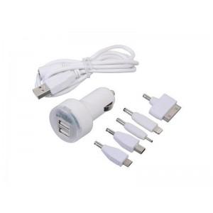 Nabíjačka telefonu 12V 2,1A (iPhone 4/5/6, micro USB, Nokia)