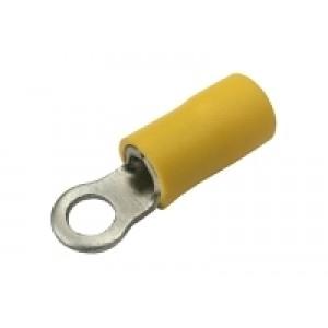 Očko 4.3mm, vodič 4.0-6.0mm žlté