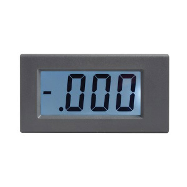 Panelové meradlo 5A WPB5035-DC ampérmeter panelový digitálny