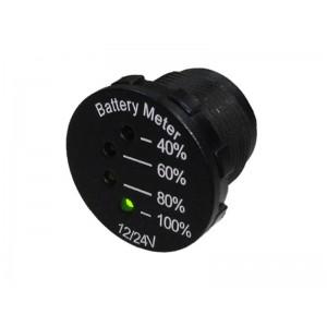 Panelové meradlo DV34541 indikátor batérie 12-24V