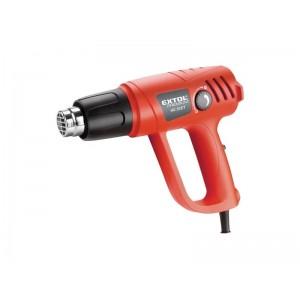 Pištoľ teplovzdušná HG 20 ET, príkon 2000W, 50-450 90-600 °C, 8894801 EXTOL PREMIUM
