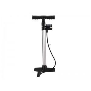 Pumpa na bicykel veľká s tlakomerom a odpúšťacím ventilom EXTOL PREMIUM 8864200