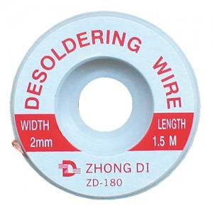 Punčoška na odsávanie cínu 2mm/1,5m