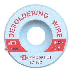 Punčoška na odsávanie cínu 3mm/1,5m