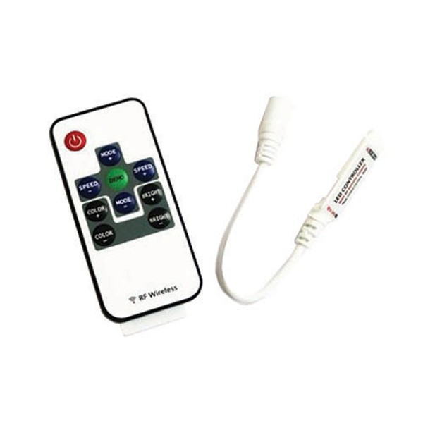 RGB kontrolér pre RGB LED pásiky, RF - mini