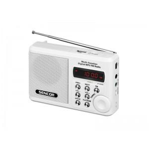 Rádioprijímač SENCOR SRD 215W USB MP3