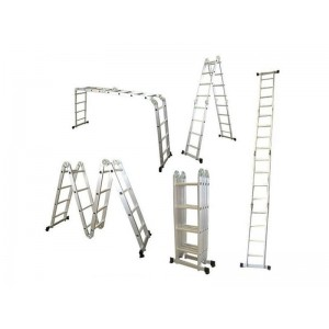 Rebríky hliníkové multifunkčné G21 GA-SZ-4x4-4.6M