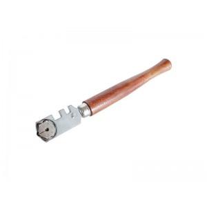 Rezač skla drevená rukoväť, 6 rezných koliesok, EXTOL CRAFT 105153