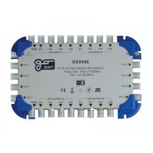 Satelitný multiprepínač GoSAT GS998E