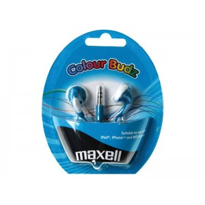 Slúchadlá Maxell 303359 Colour Budz Blue