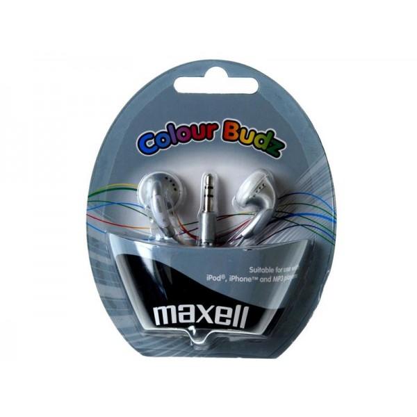 Slúchadlá Maxell 303362 Colour Budz Silver