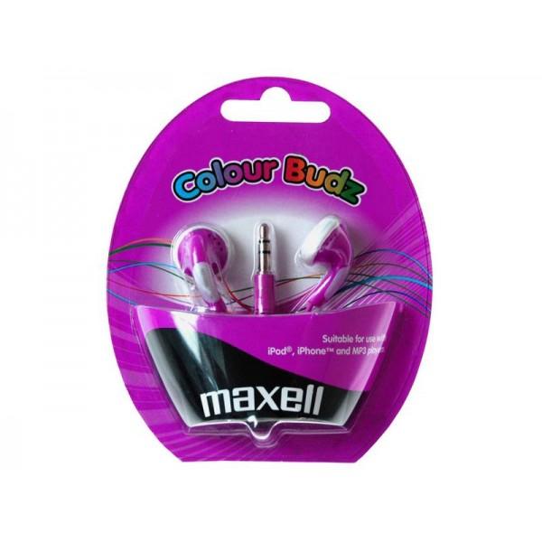 Slúchadlá Maxell 303364 Colour Budz Purple