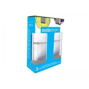 SodaStream fľaša 1L GREY DuoPack