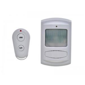 Solight GSM Alarm, pohybový senzor, diaľkové ovládanie, biely