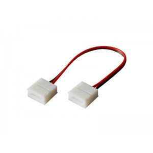 Spojka nepájivá pre LED pásiky 5050 30,60LED/m o šírke 10mm s vodičom, IP65