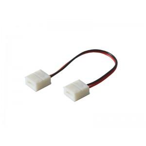 Spojka nepájiva s vodičom pre LED pásiky o šírke 8mm 3528, 2835 IP65