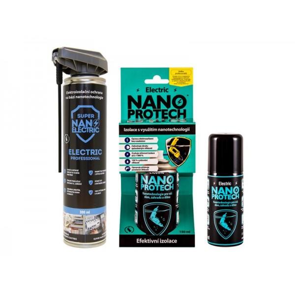 Sprej antikorózny NANOPROTECH AUTO MOTO ELECTRIC 150 ml pre motoristov