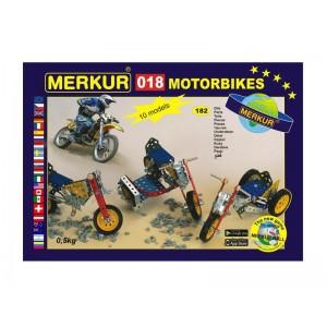 Stavebnica MERKUR 018 MOTOCYKLE