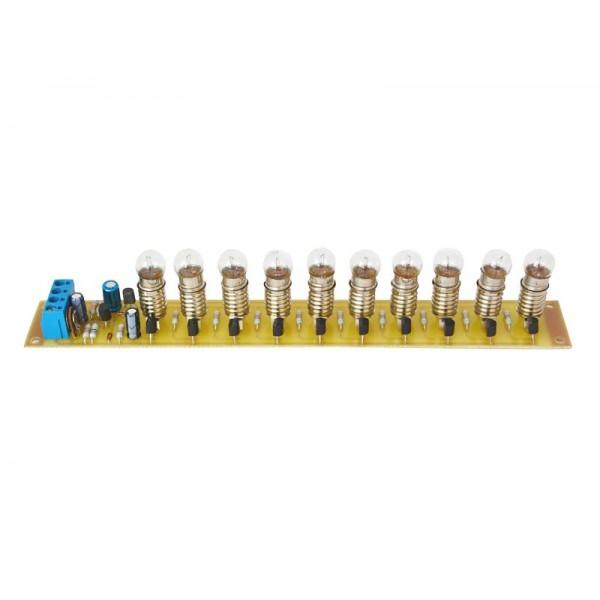 Stavebnica PT013 žiarovkový indikátor vybudenia - RETRO edícia