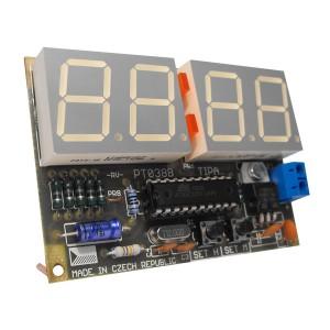 Stavebnica PT038B Jednoduché hodiny s AT89C2051