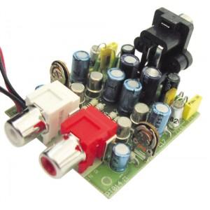 Stavebnica TIPA PT014 Predzosilňovač pre gramofón pre magneticko-dynamické prenosky