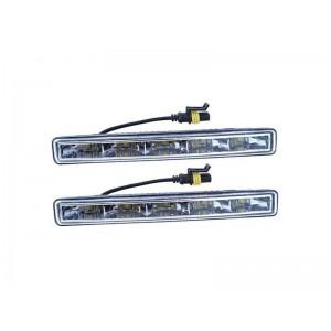 Svetlá denného svietenia 5 HIGH POWER LED 12V/24V (182x23x51 mm)