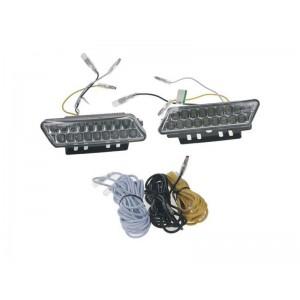 Svetlá pre denné svietenie LED DRL mini 1810, homologizácia