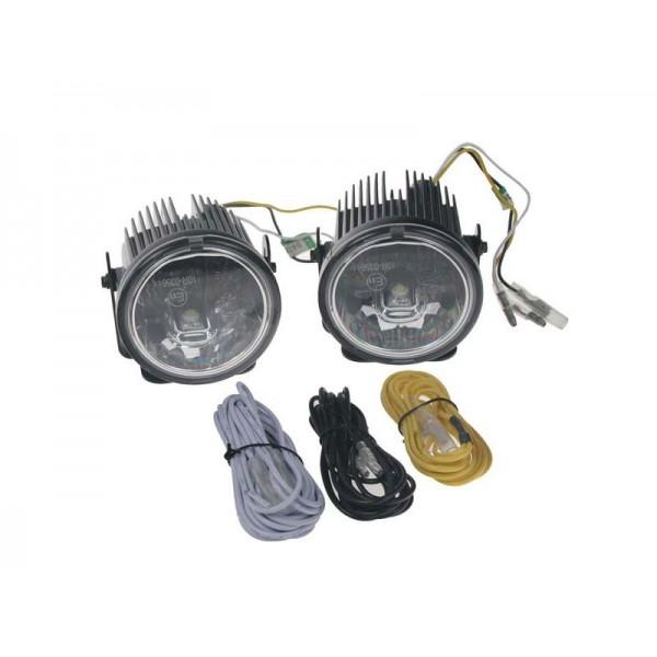 Svetlá pre denné svietenie LED DRL001 3W, homologizácia