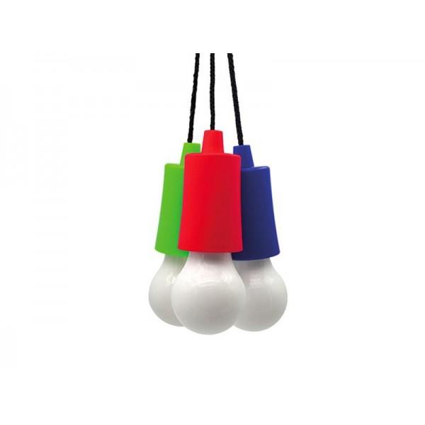 Svietidlo LED - žiarovka, 1W, 50lm, 2 x AAA