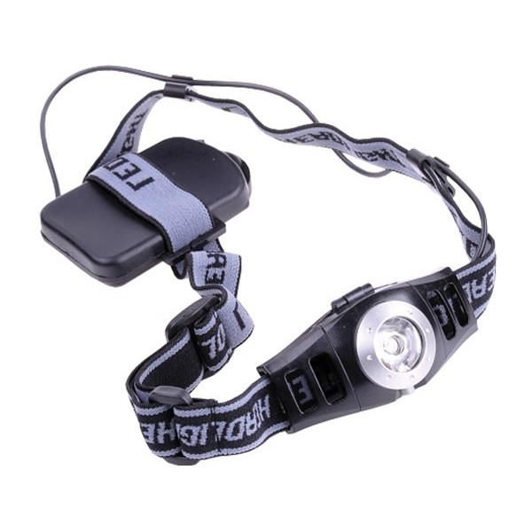 Svietidlo čelovka LED 3W s reguláciou jasu