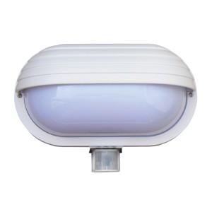 Svietidlo nástenné s čidlom pohybu Oval PIR-Micro