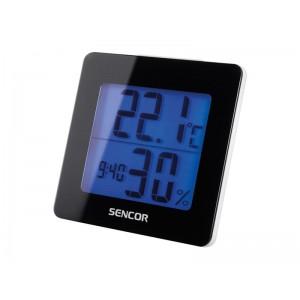 Teplomer SENCOR SWS 1500 B s hodinami
