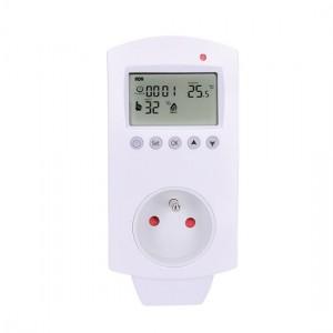 Termostat Solight DT40 zásuvkový