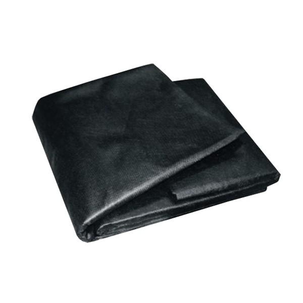 Textília netkaná čierna 1,6mx10m