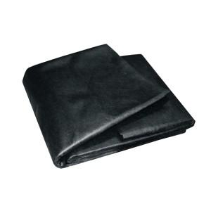 Textília netkaná čierna 1,6mx5m