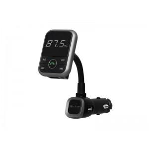 Transmitter do auta FM BLOW + HandsFree BLUETOOTH + USB nabíjačka 2.1A čierna