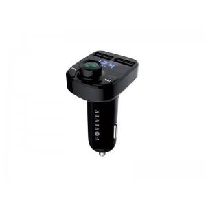 Transmitter do auta FM FOREVER TR-330 + HandsFree BLUETOOTH + USB nabíjačka 3.1A