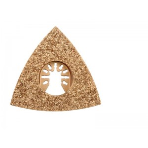 Trojuholníková brúsna doska pre multifunkčné náradie HM, 80mm (betón, keramika)