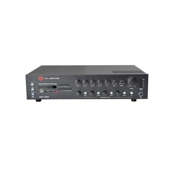Ústredňa rozhlasová MPA-120RS 100V