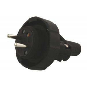 Vidlica gumová NFP-002 čierna IP65
