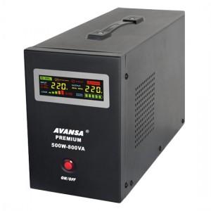 Záložní zdroj pre obehové čerpadlá AVANSA UPS 500W 12V
