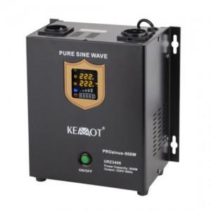 Záložný zdroj KEMOT PROsinus-500W 12V URZ3409