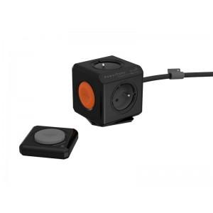 Zásuvka PowerCube EXTENDED REMOTE SET s káblom 1.5m čierna