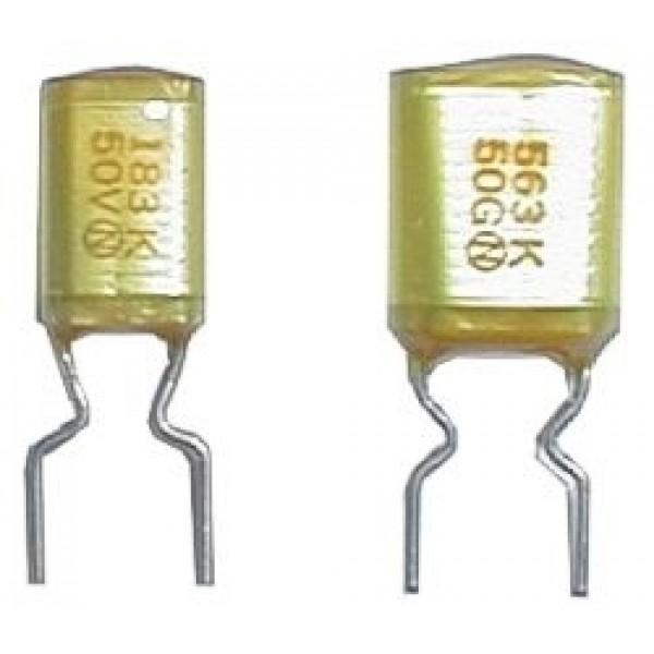 Kondenzátor zvitkový 18N 50V AMZV rad. rm5 C DOPREDAJ