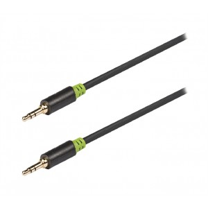 Kábel audio JACK 3.5 mm - JACK 3.5 mm 0.5 m KÖNIG KNA22000E05