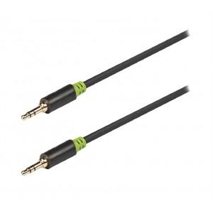 Kábel audio JACK 3.5 mm - JACK 3.5 mm 5 m KÖNIG KNA22000E50