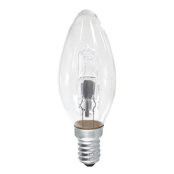 Halogénová ECO žiarovka, sviečka E14/28W