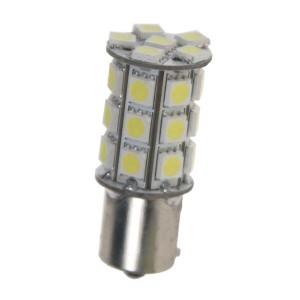 LED žiarovka 12V s päticou BA15s biela, 27LED 3SMD 95103